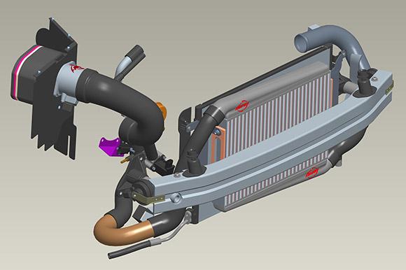 APR Longitudinal 2 0T FSI Stage III Turbo Upgrade Package