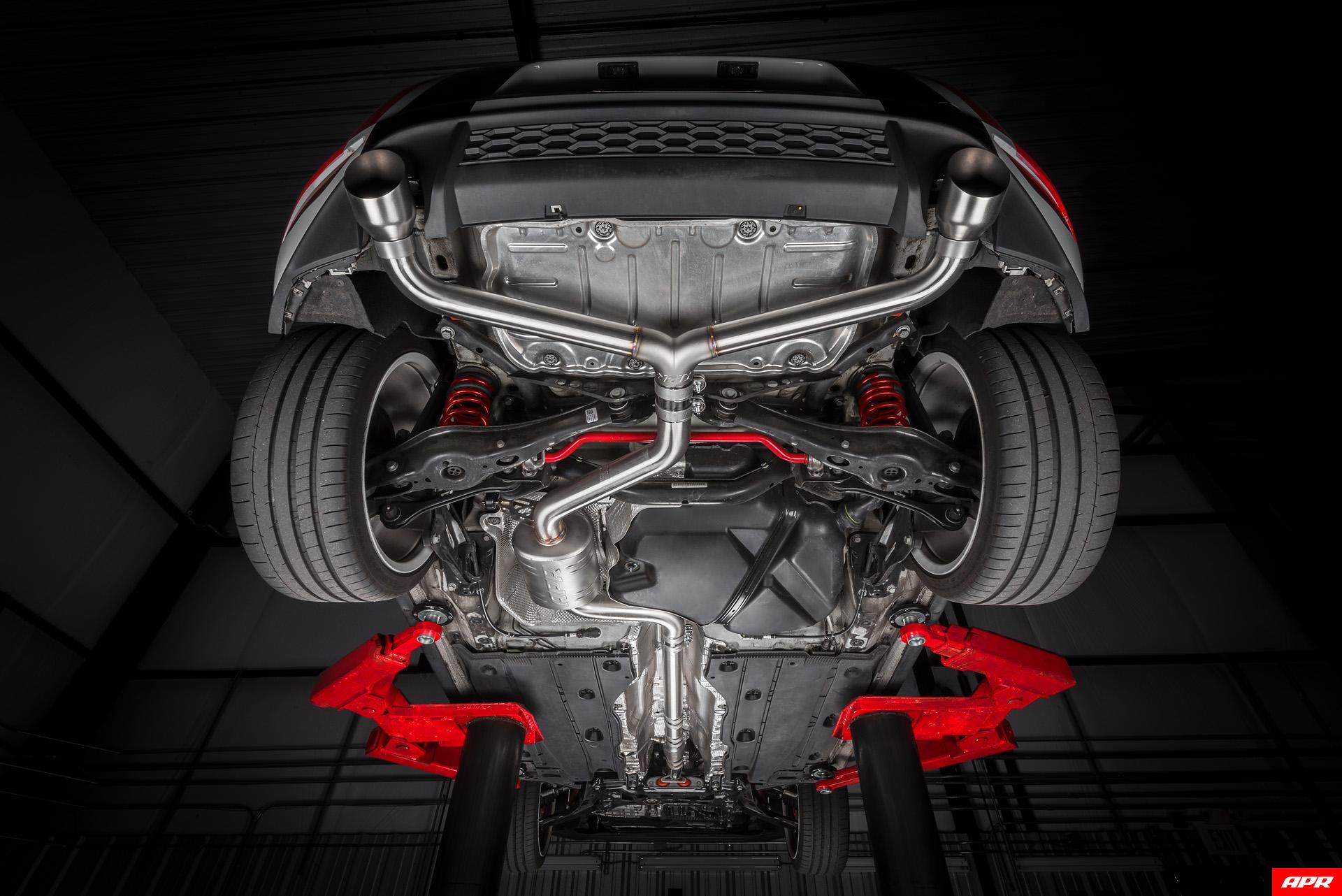 Apr Mk7 Golf Gti Catback Exhaust System